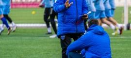 Luis Blanco va ser destituït com a entrenador de l'Atlètic Club Escaldes abans de disputar els dos últims partits. Foto: Facebook Atlètic Club Escaldes