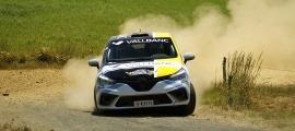 'Sito' Español, amb el Renault Clio. Foto: Fotoesport