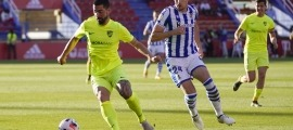 Carlos Martínez, contra el 'Sanse'. Foto: FC Andorra