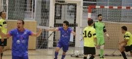 Allan Nepomuceno va celebrar el gol de la victòria, que va donar un títol més a l'Encamp. Foto: Facundo Santana