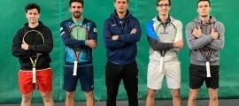 La Federació de Tennis va tancar ahir a AnyósPark el 'càsting' per a la Copa Davis. Foto: Foto cedida per Gerard Blasi
