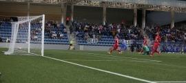 El conjunt d'Eder Sarabia va sumar ahir els tres punts en l'estrena a primera RFEF a l'Estadi Nacional.