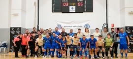 El Sideco FC Encamp i l'Atlètic Club La Seu van disputar la final del Memorial Ana Gómez. Foto: FS Encamp