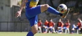 Pau Martínez, amb l'FC Andorra. Foto: FC Andorra