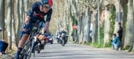 Rohan Dennis, a la Volta a Catalunya. Foto: Volta a Catalunya