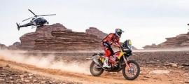 Sam Sunderland, tercer al Dakar. Foto: Instagram