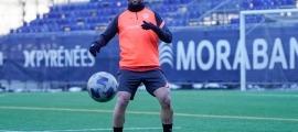 Víctor Casadesús, de l'FC Andorra. Foto: FC Andorra