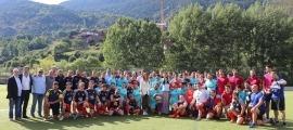 El VPC Andorra, masculí i femení, va jugar dissabte a Encamp. Foto: Comú d'Encamp