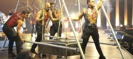 Un dels espectacles del Cirque du Soleil que van tenir lloc a Andorra.