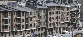 Blocs de pisos ubicats a la Massana.