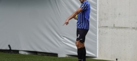Bessone 'apunta' a la banqueta de l'Inter. Foto: Interescaldes.com
