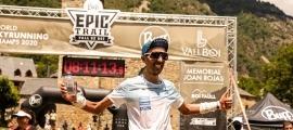 Marc Casal, campió del món SkyUltra. Foto: Buff Epic Trail