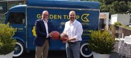 El BC MoraBanc va signar un acord de col·laboració amb Golden Tulip by Daguisa. Foto: BC MoraBanc Andorra