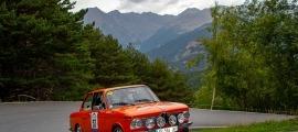 Una edició anterior del ral·li de regularitat per a clàssics de l'Automòbil Club d'Andorra.