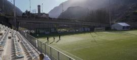Prada de Moles va ser la 'casa' durant una bona part del projecte inicial de l'FC Andorra a partir de l'arribada de Gerard Piqué i la 'seva' Kosmos. Foto: Facundo Santana