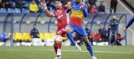 Carlos Martínez opta al premi de Golsmedia Catalunya com a millor davanter. Foto: FC Andorra