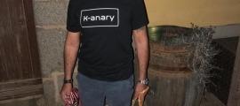 Manuel Yébenes, un dels ensinistradors del projecte K-anary.