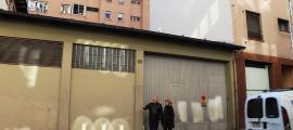 Núria Barquín i Antoni Molné, a la zona de Fiter i Rossell que van fer ahir.