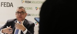 El director general de Forces Elèctriques d'Andorra (FEDA), Albert Moles, en una compareixença anterior.