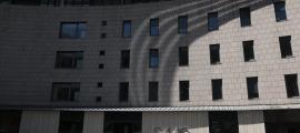 Vista exterior de l'hospital Nostra Senyora de Meritxell.