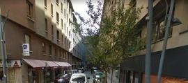 Una imatge del carrer Sant Esteve d'Andorra la Vella.
