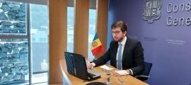 Roger Padreny ha participat aquest migdia a l'assemblea de l'OSCE.