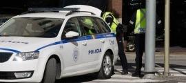 Una patrulla de la policia.