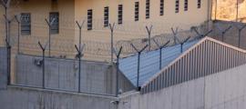 Exterior del centre penitenciari de la Comella.