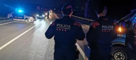 Un control dels mossos.