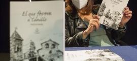 Núria Boltà durant la presentació del llibre.