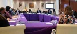Els cònsols, durant la primera reunió de mandataris després de la pandèmia, celebrada a Encamp fa uns dies.