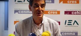 ANA/ El responsable del departament d'Estadística, Enric Ripoll,