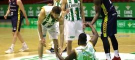'Tunde' Olumuyiwa, en el partit de la jornada 26 del curs passat. Foto: ACB Photo / D. Ligero