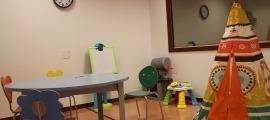 La sala on declaren els menors.