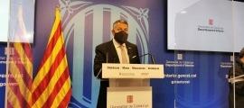 El conseller d'Interior de la Generalitat de Catalunya, Miquel Samper.