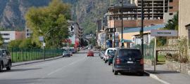 ANA/ L'avinguda d'Enclar, una de les zones afectades pel tall.