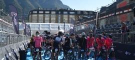 La sortida de l'Andorra 21 Ports, inclosa dins l'Andorra Multisport Festival.