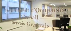 El departament de Treball.