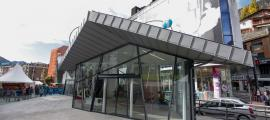 L'oficina de Turisme de la capital.