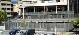 La façana del col·legi María Moliner a Escaldes-Engordany.