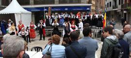 La Setmana de la diversitat cultural va arrencar dilluns i es va clausurar ahir a la plaça Guillemó de la capital.