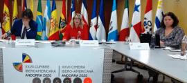 Reunió virtual dels coordinadors nacionals de la Conferència Iberoamericana que va tenir lloc a principis de juliol.