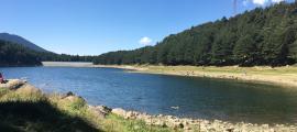 El llac d'Engolasters, en el punt de mira del turisme de BTT.