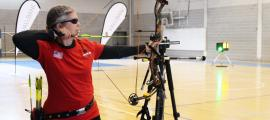 Competició de tir amb arc per a invidents organitzada per Fadea