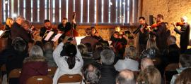 Concert de l'ONCA a l'era Rossell amb motiu del Dia internacional dels museus.