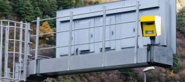 Radar instal·lat a la xarxa viària del país.