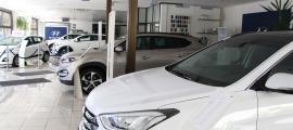 Durant els últims dotze mesos s'han matriculat 3.667 vehicles.
