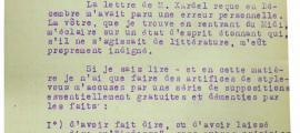 Camp, estupefacte per la queixa de Sandy sobre l'oblit de citar-la a l'adaptació teatral, i a Engolasters, el 1941, amb Xardel.