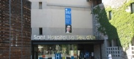 A l'hospital no hi ha cap persona ingressada per coronavirus