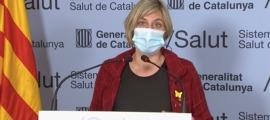 La consellera de Salut de la Generalitat, Alba Vergés.